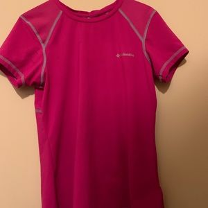 Columbia dri-fit t shirt
